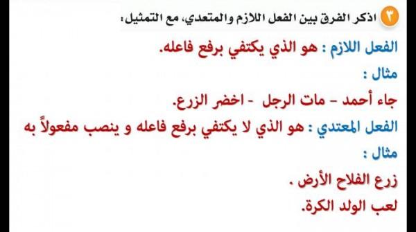 كيف تفرق بين الفعل المتعدي واللازم في اللغة العربية؟ • تسعة
